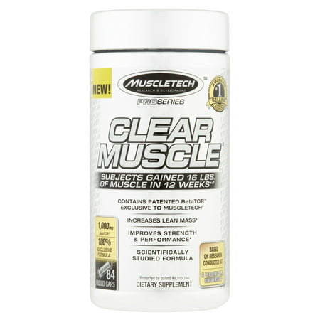 MuscleTech Clear Muscle Amino Acid Capsules, 84