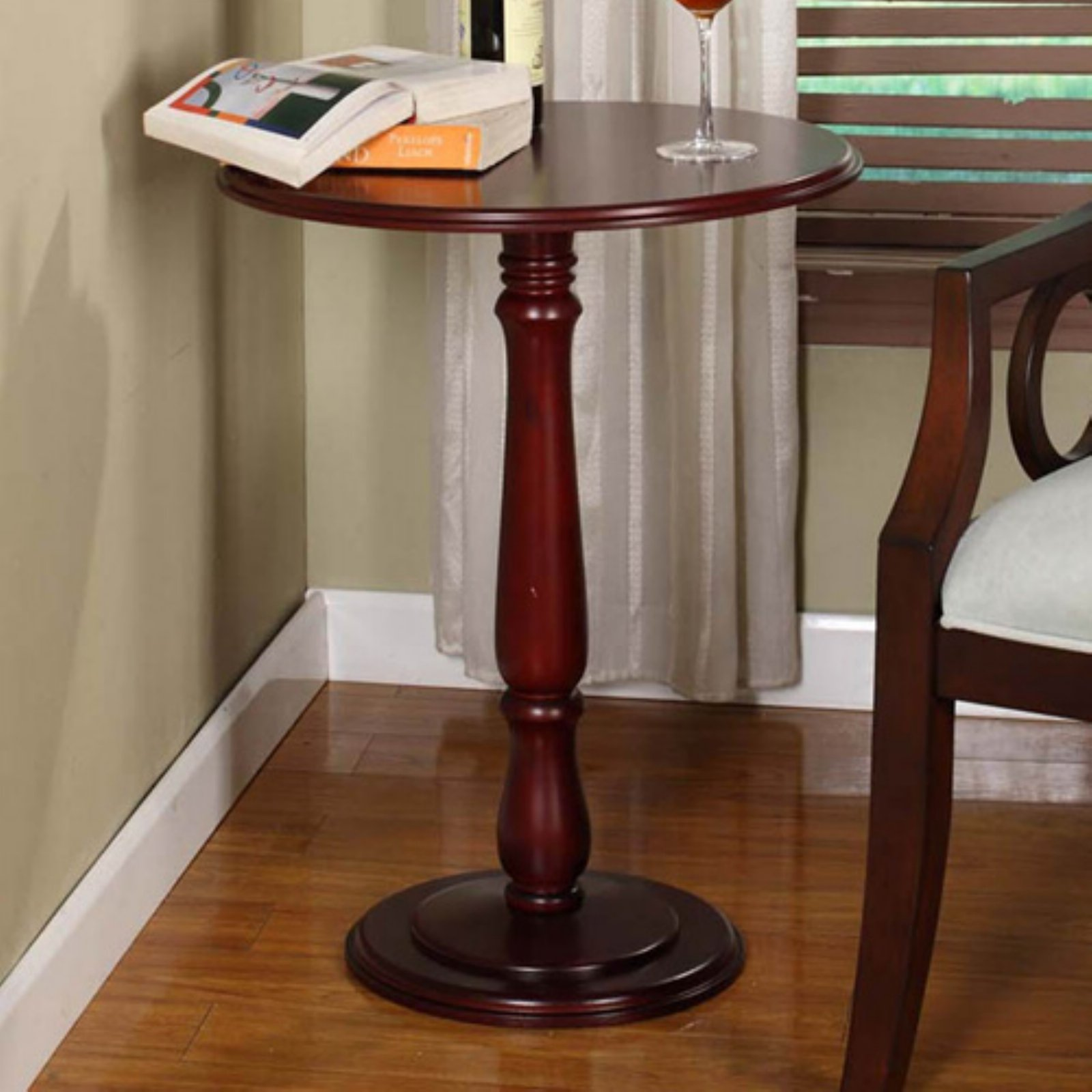K & B Furniture Plant Stand - Cherry