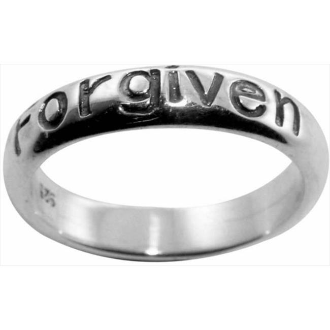 Solid Rock Jewelry 760728 Ring Forgiven Oxidized Style 800 Ss Size 5