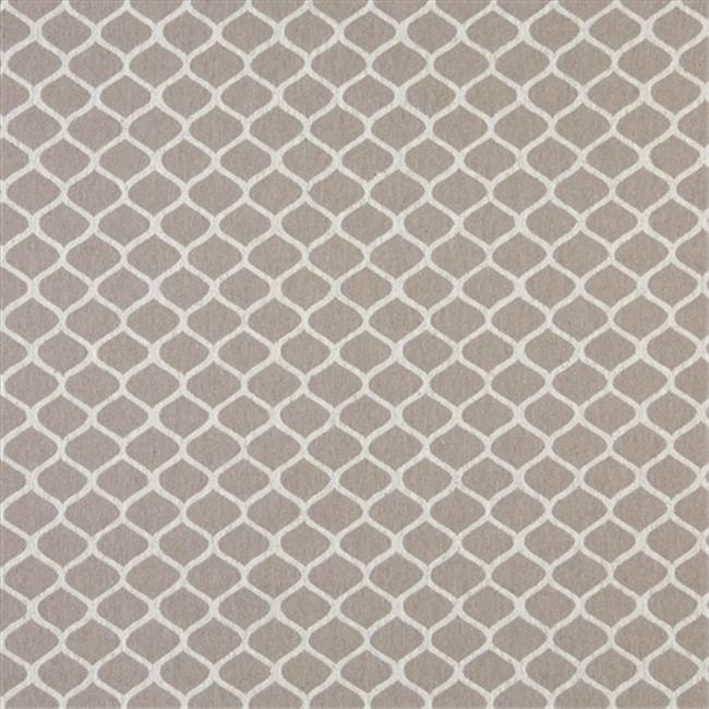 Designer Fabrics K0008F 54 in. Wide Grey And Off White, Modern, Geometric Designer Quality Upholstery Fabric