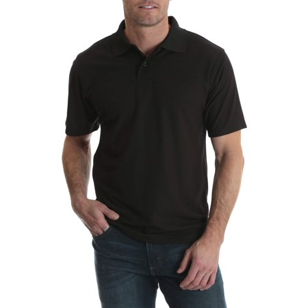 Men's Short Sleeve Performance Polo Blue Drytec Performance Polo
