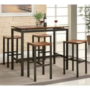 Coaster 5-Piece Counter Height Table and Chair Set, Multiple Colors