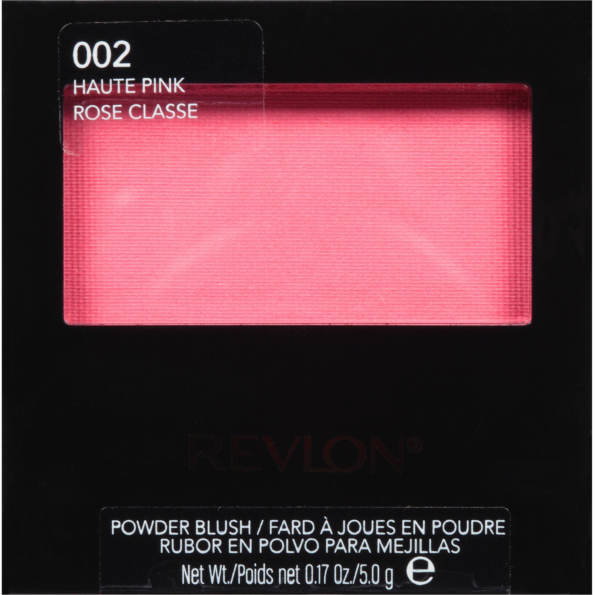 Revlon Powder Blush, 002 Haute Pink, 0.17 oz