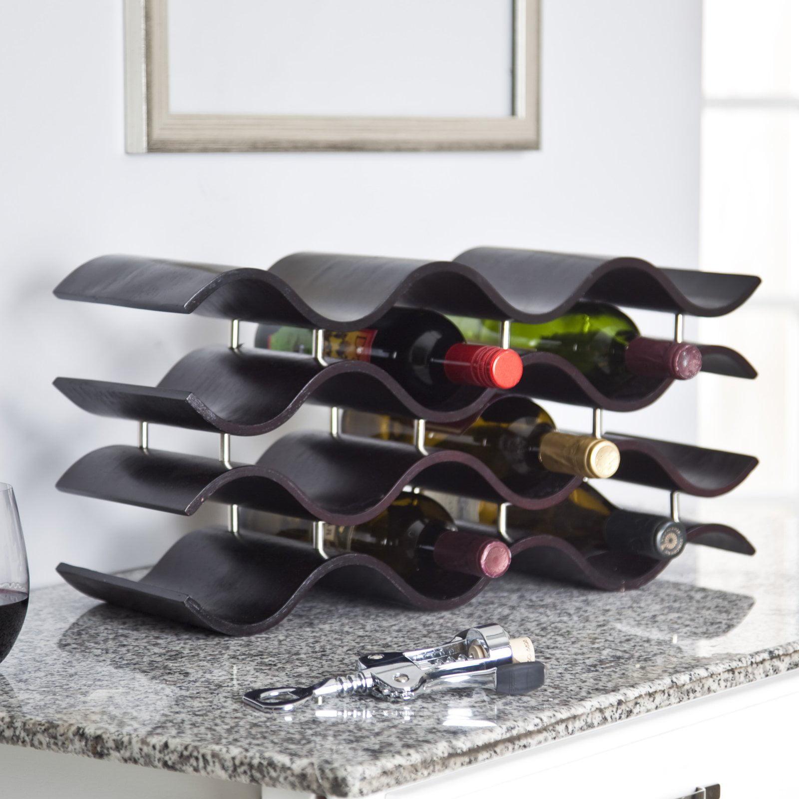 Oenophilia Bali 12-Bottle Wine Rack