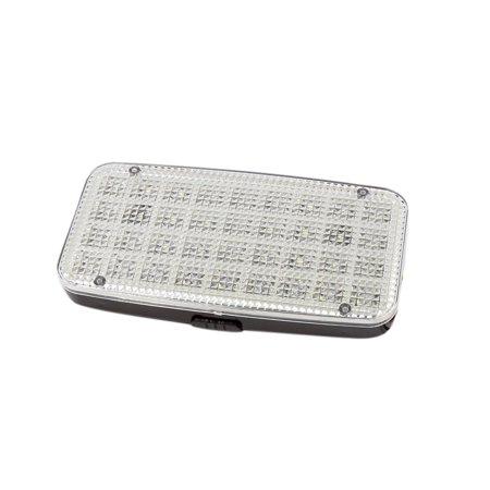 Plastic Shell White LED Car Auto Dome Roof Ceiling Interior Light Lamp DC 12V - image 1 de 2