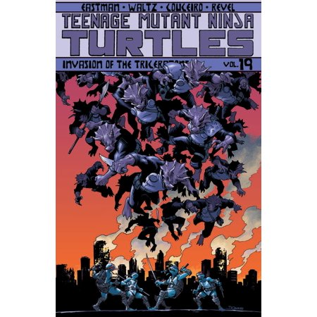 Teenage Mutant Ninja Turtles Volume 19: Invasion of the Triceratons