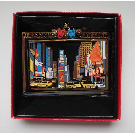 New York City Times Square Christmas Ornament Souvenir Gift (Halloween New York Times Square)