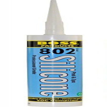 American Granby 80200B Pool and Spa Silicone Adhesive Clear 10.3 Oz