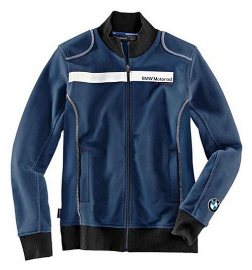 BMW Genuine Motorcycle Riding Bmw Logo Unisex Sweat-Shirt Jacket 3XL Blue