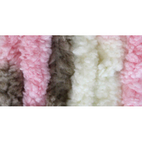 BERNAT Baby Blanket Yarn, Little Petunias Multi-Colored