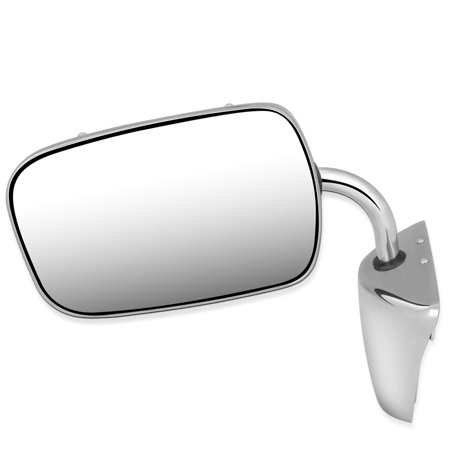 For 1973 to 1986 Chevy C10 K10 K20 Pickup Blazer GMC C15 Suburban Jimmy OE Style Manual Side View Door Mirror 996220 74 75 76 77 78 79 80 81 82 83 84 85 06 Chevy Suburban Manual