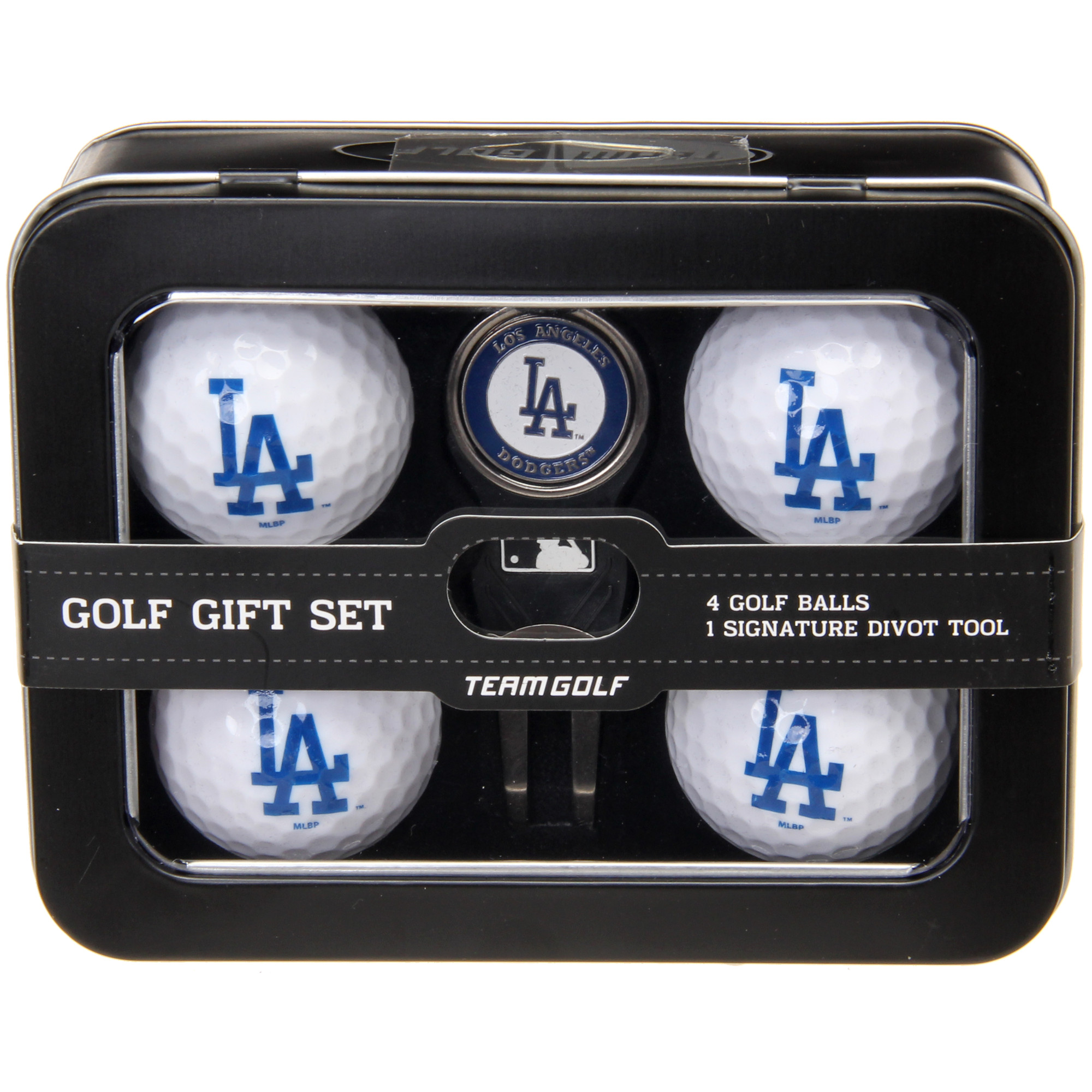 Los Angeles Dodgers 2016 4 Golf Ball and Divot Tool Set - No Size