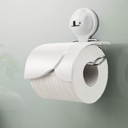 FECA Wall Mounted Toilet Paper Holder with Cover and Powe...