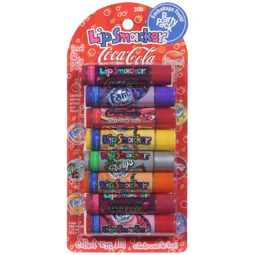 Bonne Bell Coca-Cola Lip Smacker Lip Gloss Party Pack