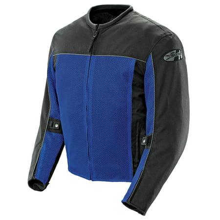 Joe Rocket Velocity Mens Blue/Black Mesh Motorcycle