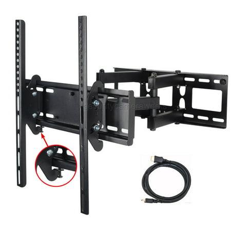 "VideoSecu Full Motion TV Wall Mount for Sharp AQUOS 32 40 43 48 50 55"" LC-40N5000U LC-43N4000U LC-50N4000U LED LCD BD4"
