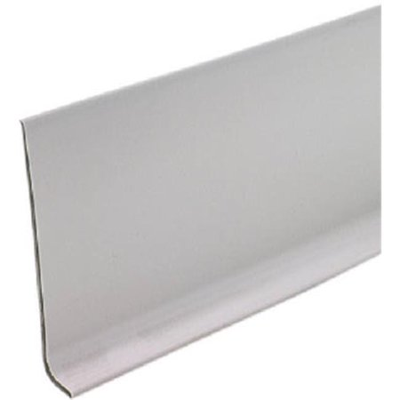M-D Building Products 75945 2.5 in. x 120 ft. Silver Gray Vinyl Cove Wall Base