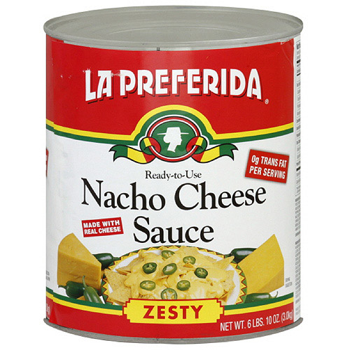 La Preferida Nacho Zesty Cheese Sauce, 106 oz (Pack of 6)