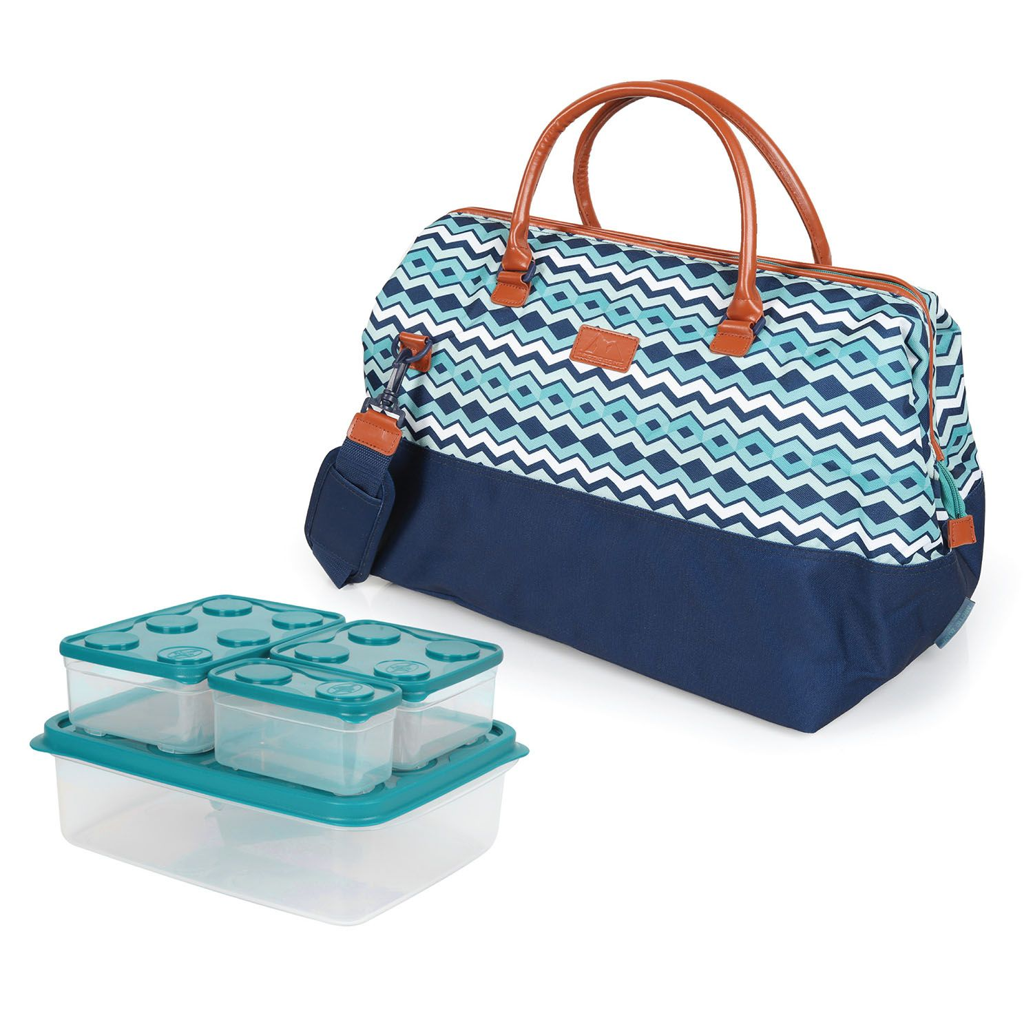 Arctic Zone Insulated Picnic Tote, Blue