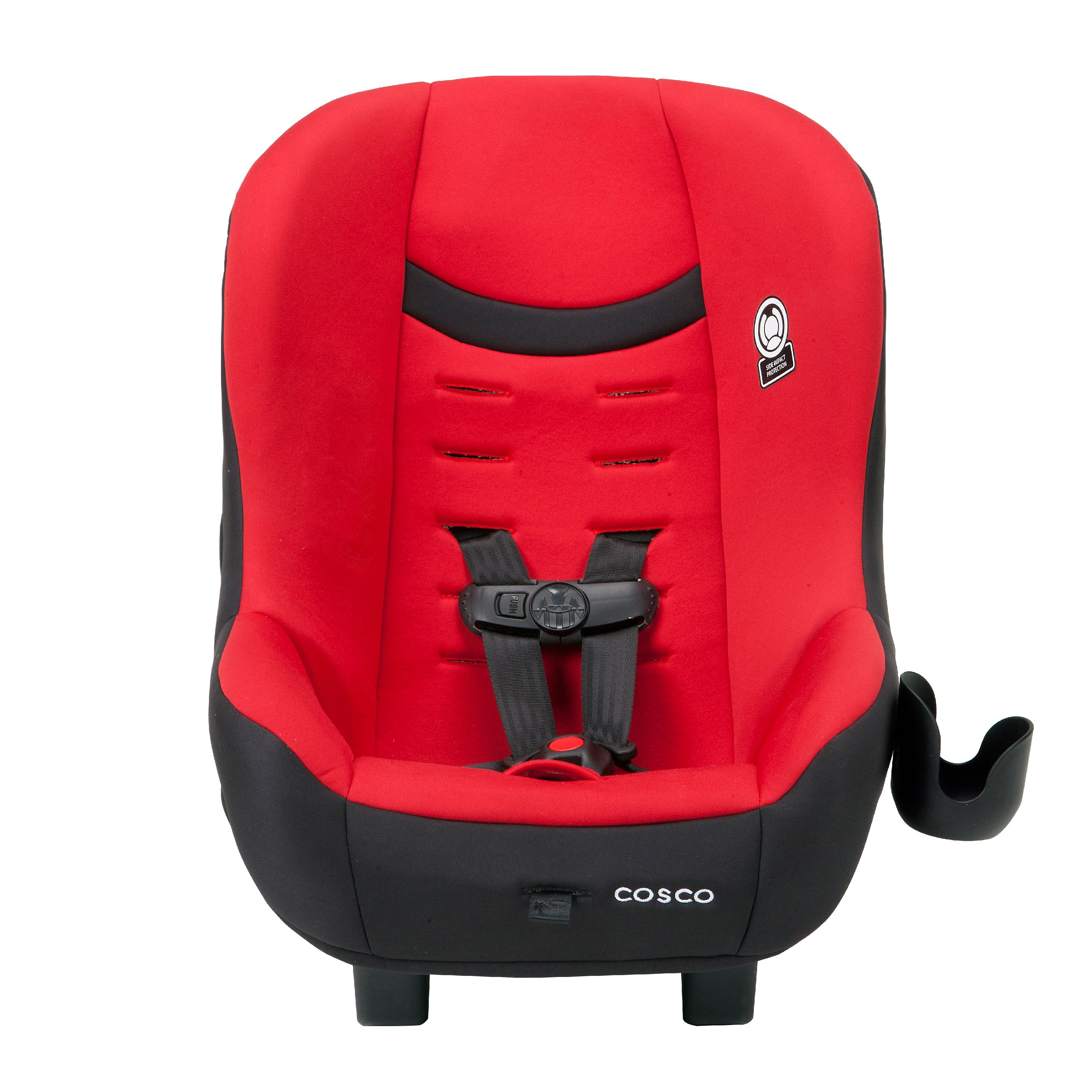 Cosco Scenera NEXT Convertible Car Seat, Candy Apple Red