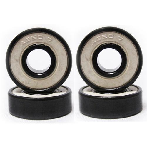 ABEC 7 Scooter Ball Bearings 1 Set of 4 FOR KICK SCOOTER OR SKATE WHEELS 608RS