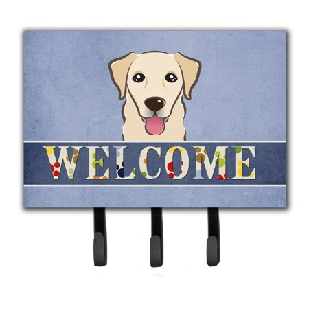 - Golden Retriever Welcome Leash or Key Holder BB1438TH68