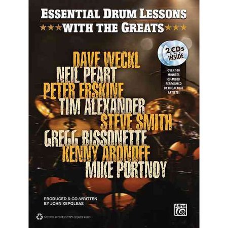 Drum Lessons With the Greats: Dave Weckl, Neil Peart, Peter Erskine, Time Alexander, Steve Smith, Gregg... by