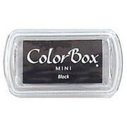 ColorBox Pigment Ink Pad Mini Sz Black