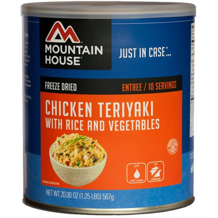 Mountain House Chicken Teriyaki with Rice #10 Can