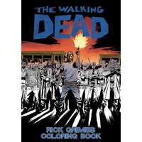 The Walking Dead: Rick Grimes Adult Coloring Book (Paperback)