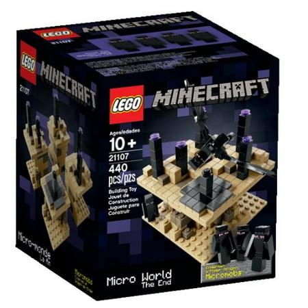 LEGO Minecraft Micro World - The End 21107 (Lego Minecraft Micro)