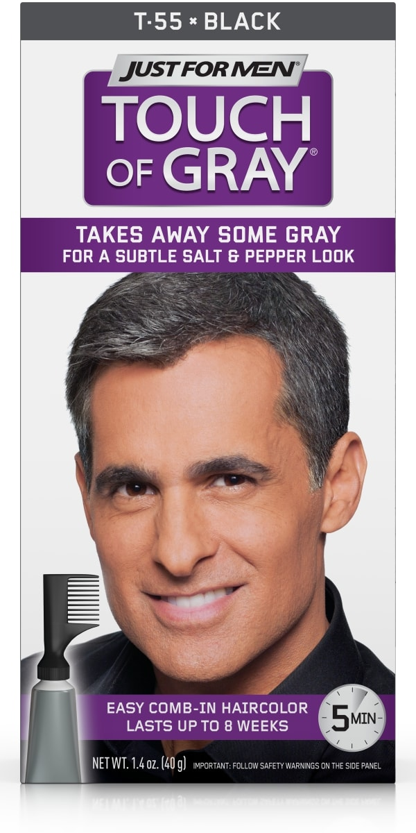 Just For Men Touch Of Gray Easy Mens Hair Color With Comb In