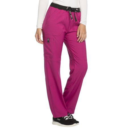 Scrubstar Women's Fashion Collection Breast Cancer Awareness Scrub Pant Discount Nursing Scrubs Shop