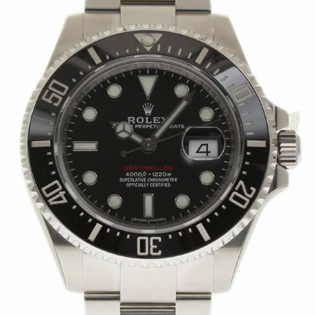 Pre-Owned Rolex Sea-dweller 126600 Steel  Watch (Certified Authentic & -