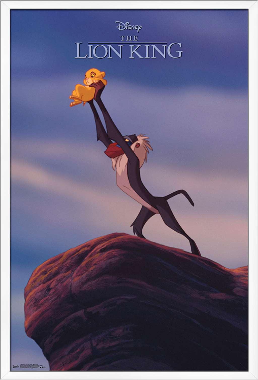 Disney The Lion King 1994 Pride Rock Poster Walmart Com Walmart Com
