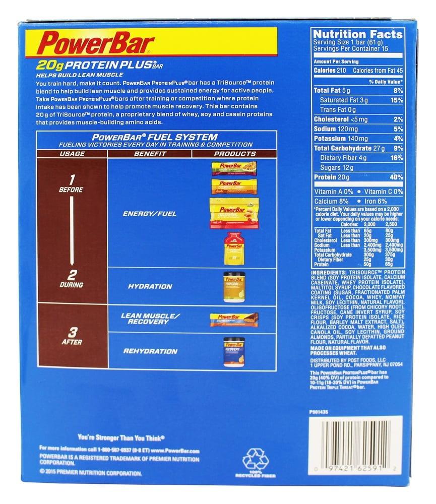PowerBar Protein Plus 30g, Chocolate