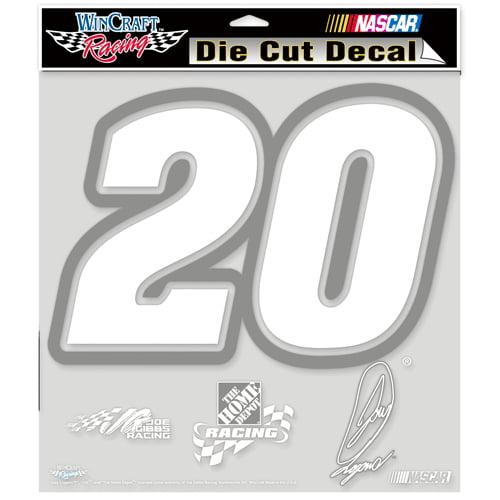 Joey Logano Official NASCAR 8 inch x 8 inch  Die Cut Car Decal by WinCraft