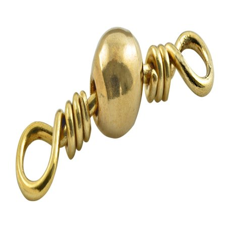 Barrel Swivel (Brass, 10)..., By South Bend Ship from US