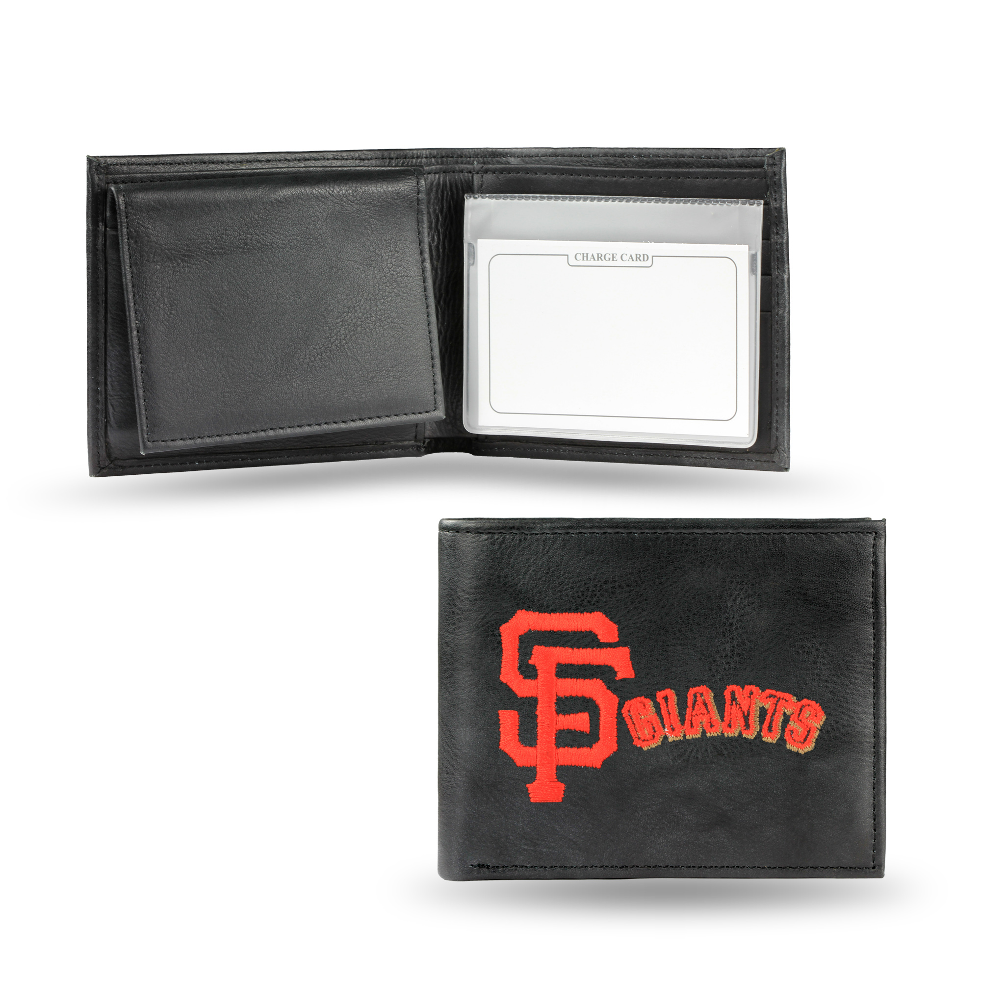 MLB - Men's San Francisco Giants Embroidered Billfold Wallet