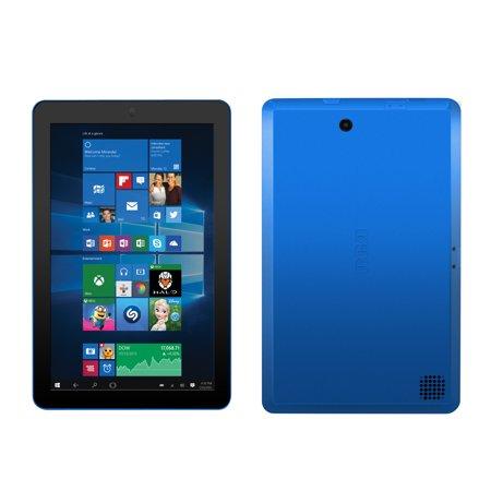 rca cambio windows 10 blue 2 in 1 notebook tablet walmart com