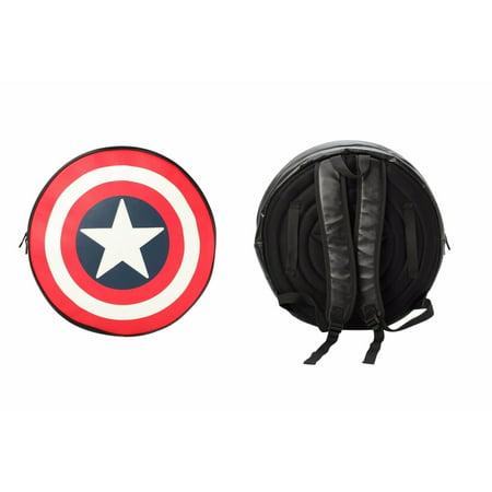 Comics Captain America Black Backpack/Shield](Captain America Shield Backpack)