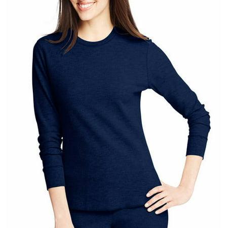 Hanes Women;s X-temp Thermal Underwear Crew Tee ; Pant