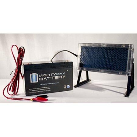 6V 12AH Battery for Compaq T1000 + 6V Solar Panel Charger thumbnail