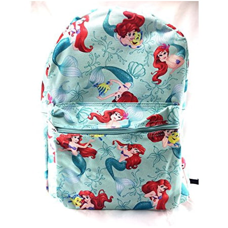 Backpack - Disney - Green School Bag New 100223