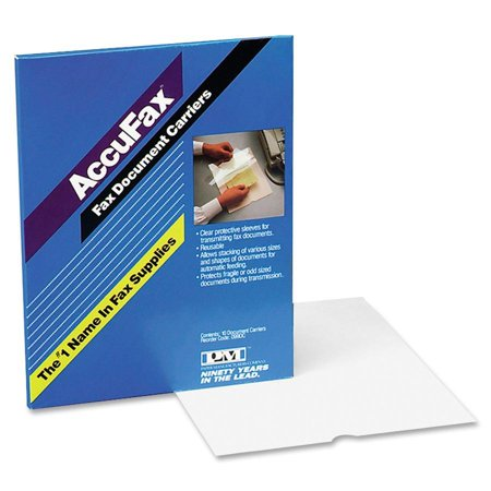 PM, PMC099DC, Accufax Fax Document Carrier, Clear (Pm Accufax Fax Document Carrier)