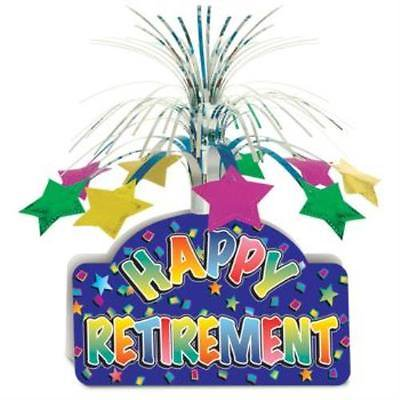 Happy Retirement Centerpiece, 2PK - Retirement Centerpieces