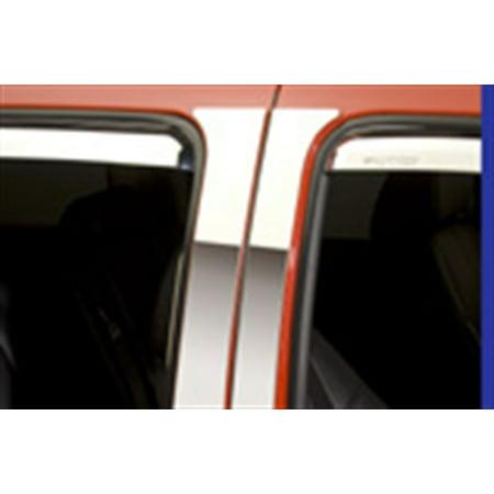Putco 402669Gm 2 Classic Decorative Pillar Posts  W O Accents Fits Sierra 1500