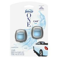 Febreze One Car Air Freshener, Aqua, 2 Count