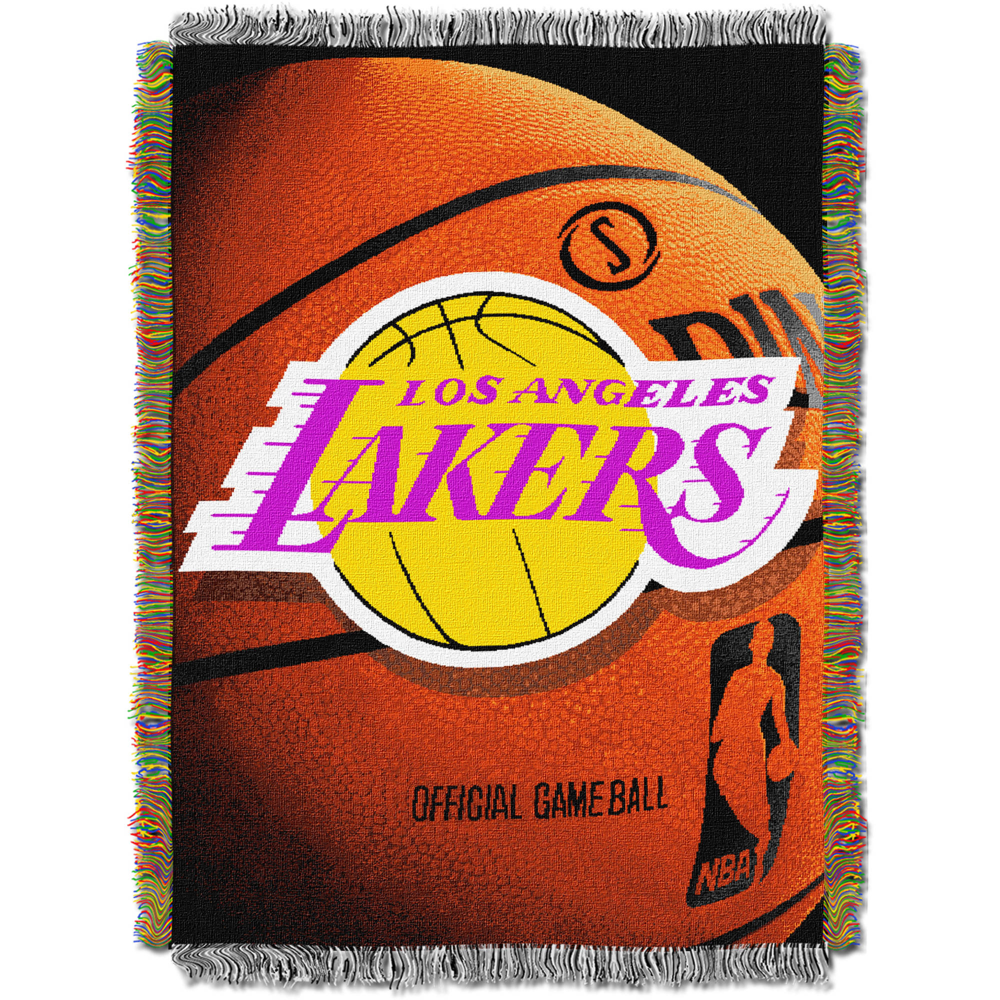 "NBA 48"" x 60"" Photo Real Series Tapestry Throw, Lakers"