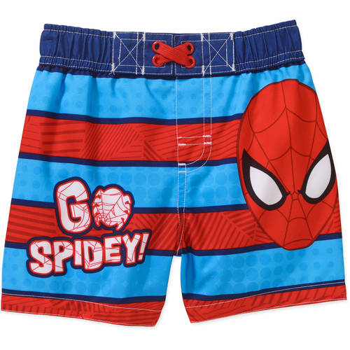 Spider-Man Newborn Baby Boy Swim Trunks